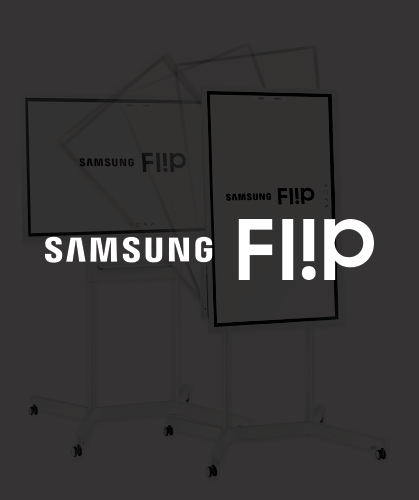 Technology samsung flip logo