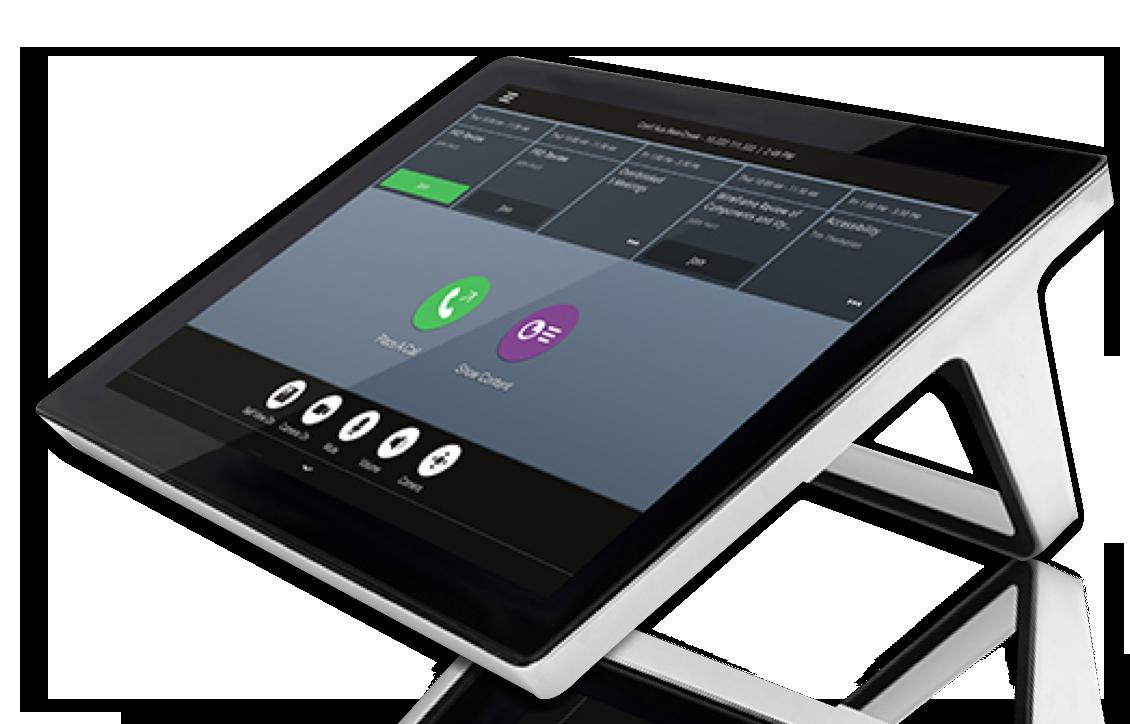 Polycom Video Conferencing screen