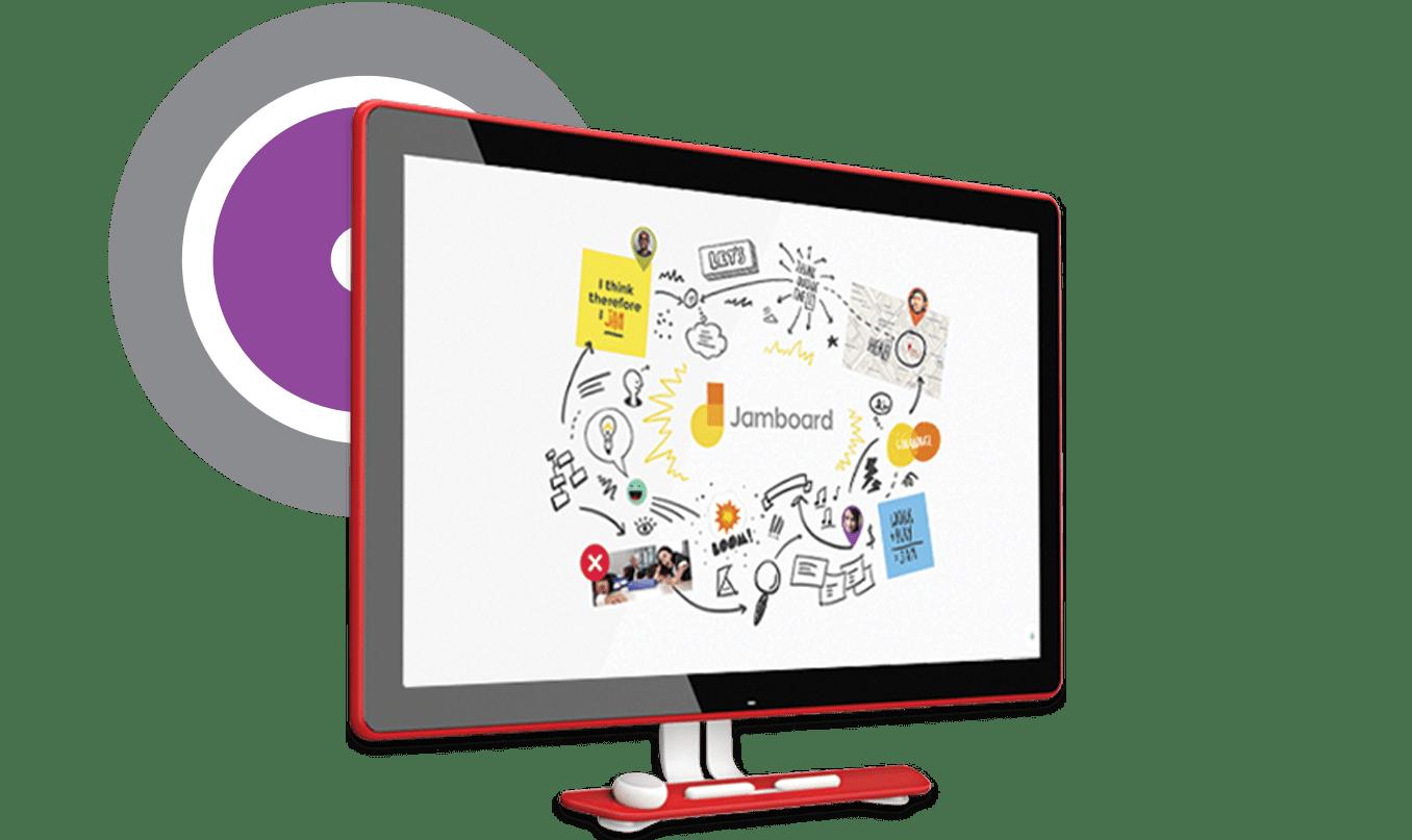 Hangouts Meet Hardware google Jamboard